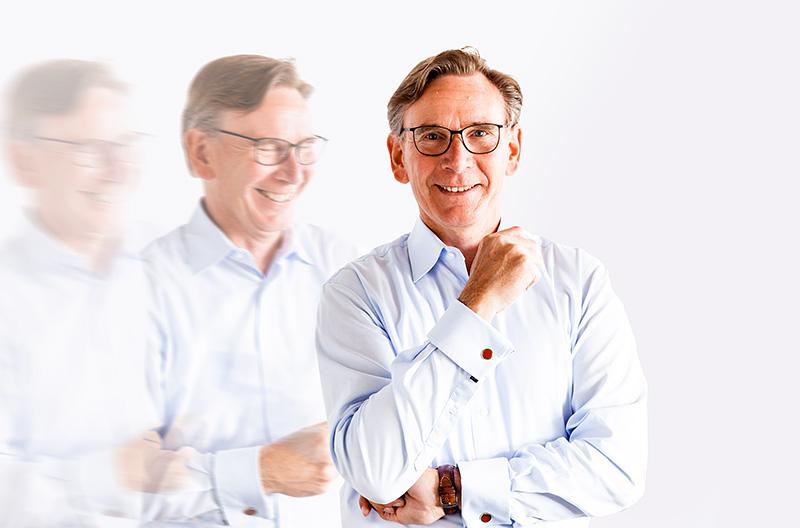 CEO Heinz-Jürgen Pick Collage