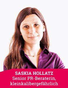 Senior PR-Beraterin Saskia Hollatz