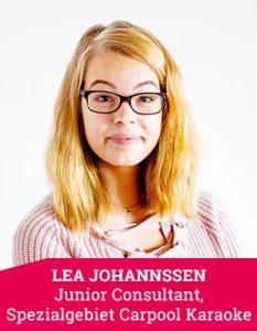 Junior Consultant Lea Johannsen