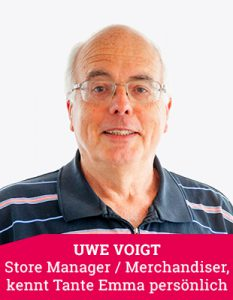 Store Manager Uwe Voigt
