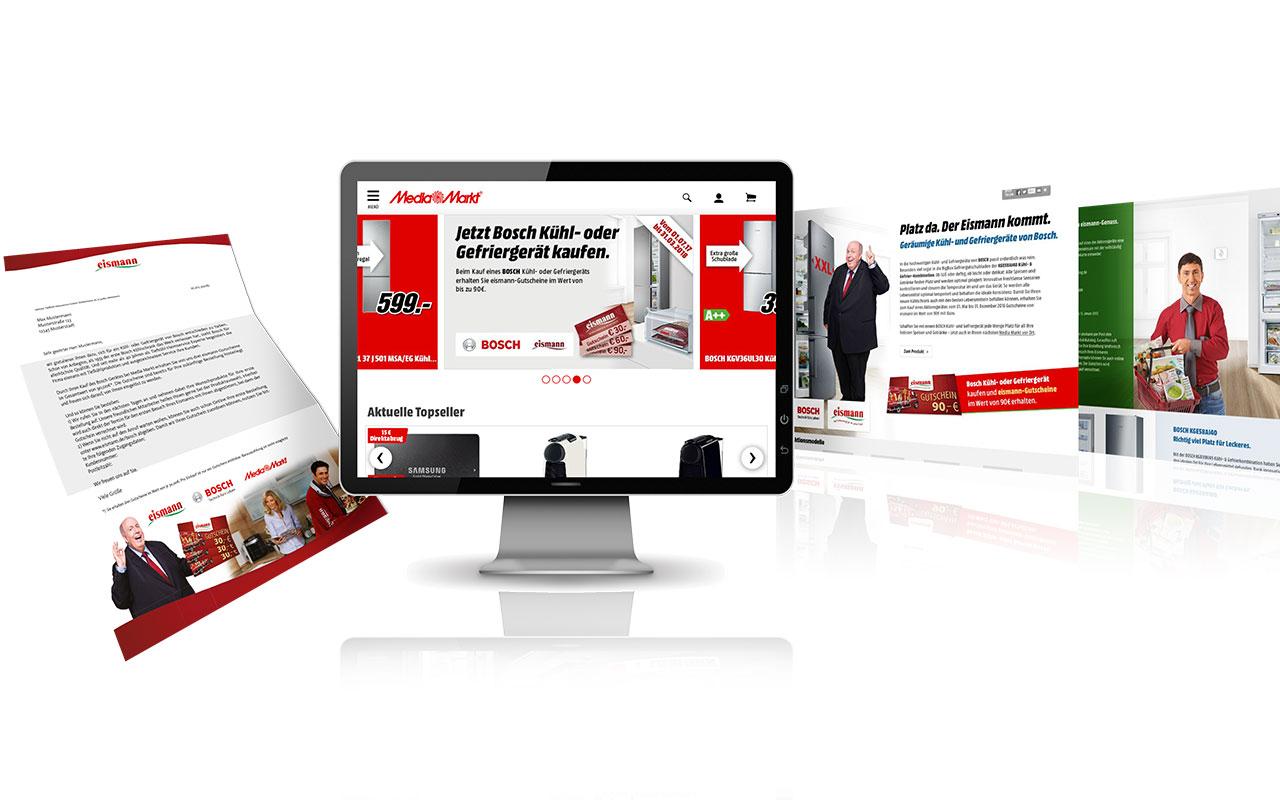 Monitor mit MediaMarkt Anzeige
