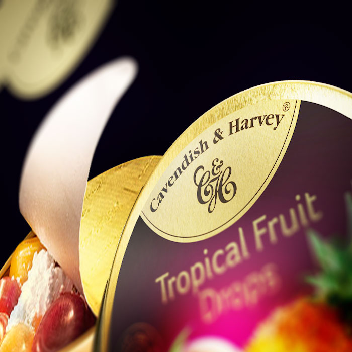 Cavendish & Harvey Tropical Fruit Metalldose