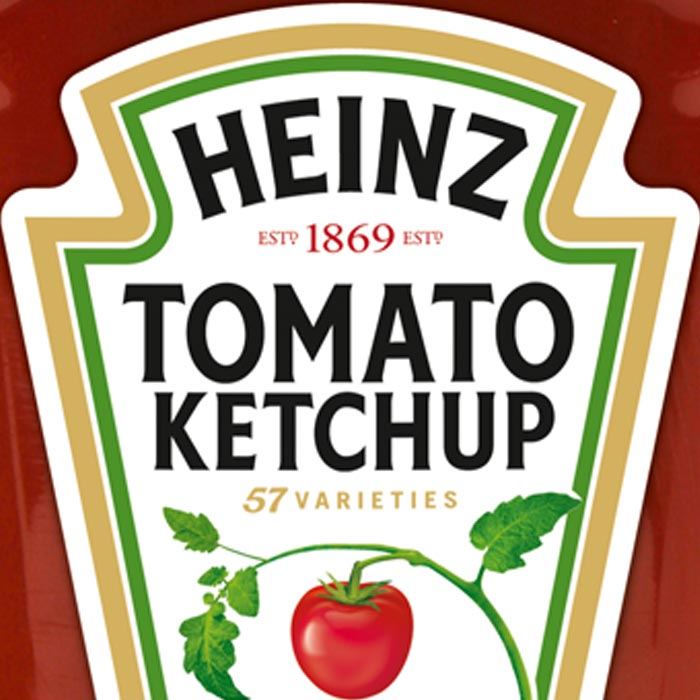 Nahaufnahme Produktbild Heinz Tomato Ketchup