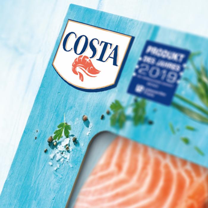 Nahaufnahme Produktbild Costa TK Fisch- und Meeresfrüchte