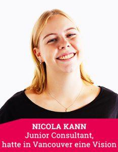 Junior Consultant Nicola Kann