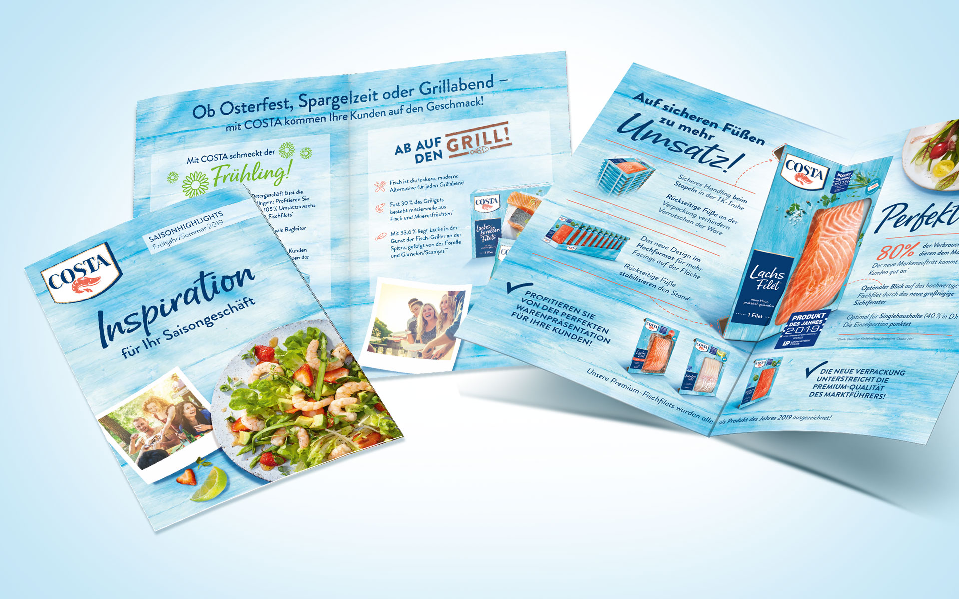 Collage Salesfolder Costa TK Fisch- und Meeresfrüchte