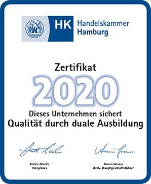 Handelskammer Zertifikat