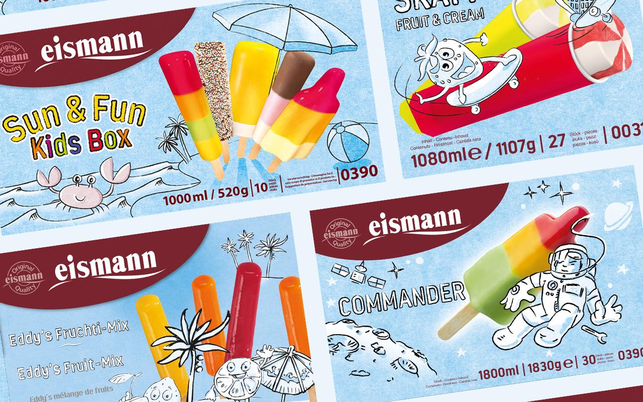 Produktbild eismann Eis Verpackungen