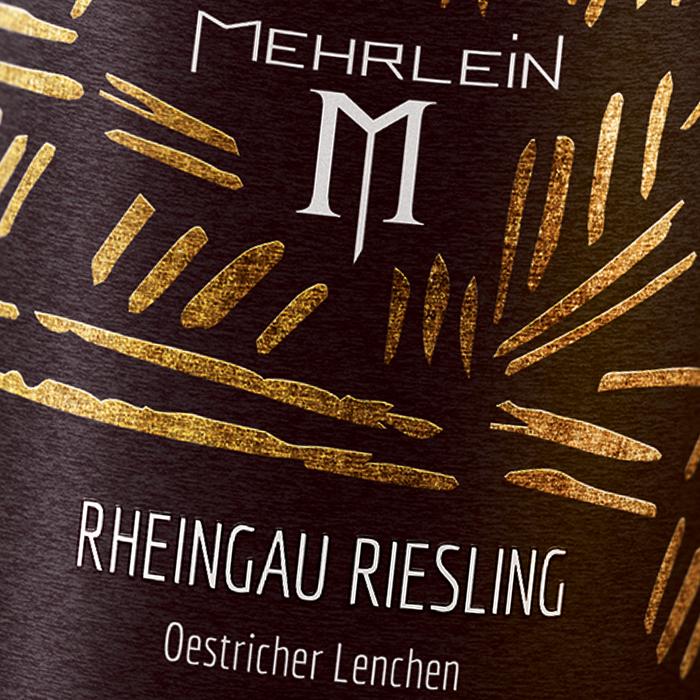 Mehrlein Wein Etikett