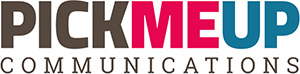 PickMe-Up Communications Logo